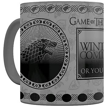 Renk Deðiþtiren Kupa Game Of Thrones Stark