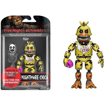 """Action Figure Five Nights At Freddys 5"""" Articulated Nightmare Chica"""