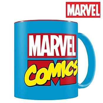 Marvel Comics Logo Ceramic Mug Kupa Bardak
