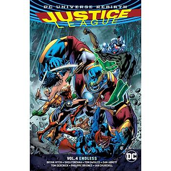 Justice League (2016-) Vol. 4: Endless