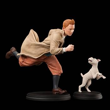 The Adventures of Tintin And Snowy Statue