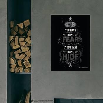 Wizarding World Poster Model - Fear & Hide