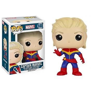 Funko POP Marvel Unmasked Captain Marvel POP