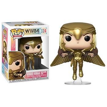 Funko POP Heroes: Wonder Woman 1984 - Wonder Woman (Golden Armor-Flying)