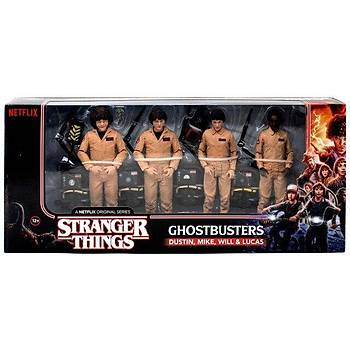 Stranger Things - ( Ghostbusters ) Deluxe 4-Pack  Action Figure