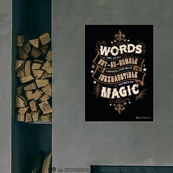 Wizarding World Poster Model - Magic Words Tipgrafik