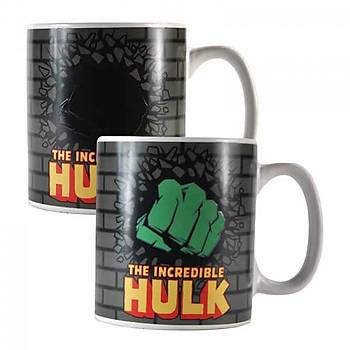 Marvel Heat Changing Mug - Hulk
