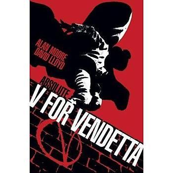 V For Vendetta Özel Edisyon Türkçe Çizgi Roman