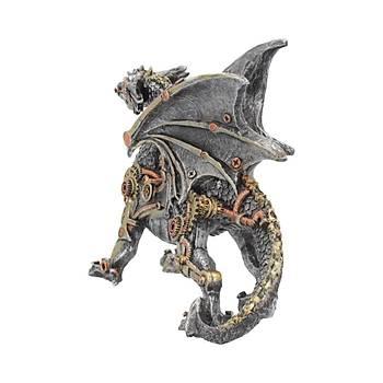 Dracus Machina (Small) 20.5cm Dekoratif Ejderha