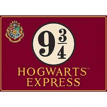 Harry Potter Platform 9¾ Metal Duvar Levhasý