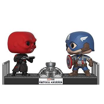 Funko POP Movies Marvel- Captain America and Red Skull