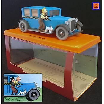 Tintin 1/24 - Chicago Taxi Checker Figure