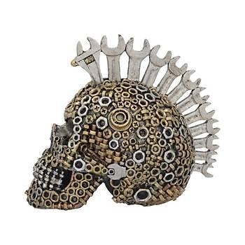 Mechanically Minded Small 17cm Dekoratif Kurukafa