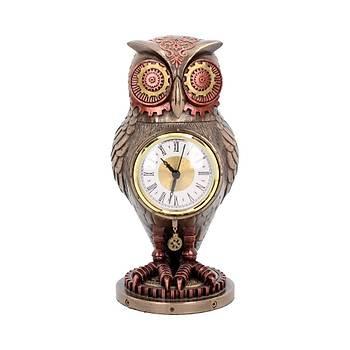 Tick Toot Clock 27cm Dekoratif Baykuþ