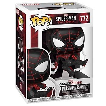 Funko POP Games Spider-Man Miles Morales Miles (Advanced Tech Suit)
