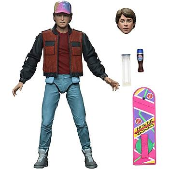 NECA Ultimate Marty (Back to the Future Part 2) 7 Inch  Action Figure