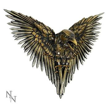 Blade Raven 27cm Dekoratif Kuþ