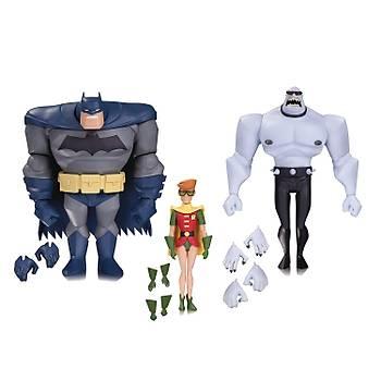 Batman: The Animated Series: Batman, Robin & Mutant Leader Action Figure