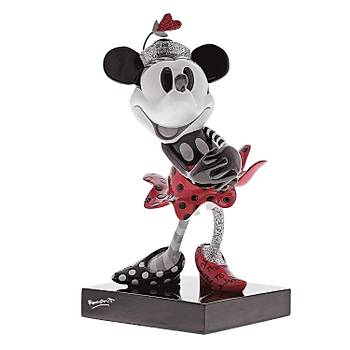 Disney by Britto Steamboat Minnie Stone Resin Figurine