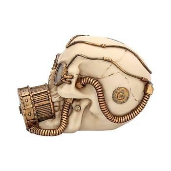 Mechanical Respirator 17.4cm Dekoratif Kurukafa