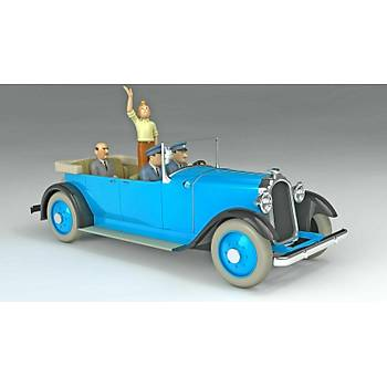 The Cars of Tintin (1:24 scale) - Hachette - Parade Limousine (Tintin in America)