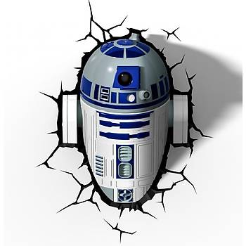3D Light FX Star Wars R2-D2 Duvar Lambasý