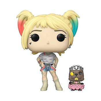 Funko POP DC Birds of Prey - Harley Quinn with Beaver