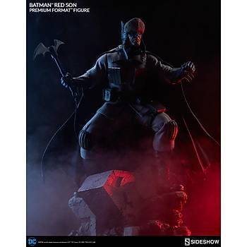 Batman Red Son Premium Format Figure by Sideshow Collectibles