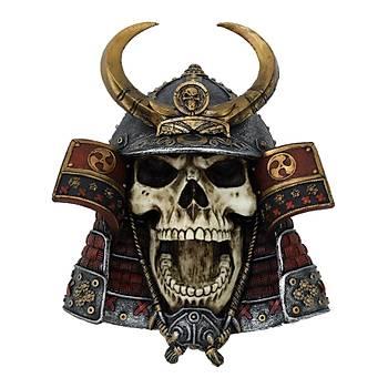 Nemesis Kabuto Skull 26cm Dekoratif Kurukafa