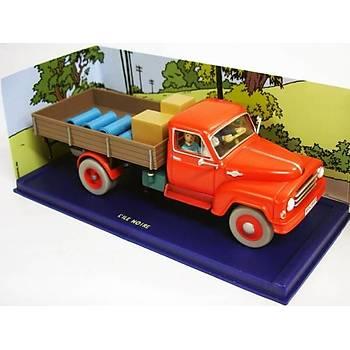 Tintin - Editions Atlas  Le camion rouge de L'Ile Noire neuf en boite Figure