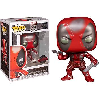 Funko POP  Marvel 80th: First Appearance Deadpool Damaged