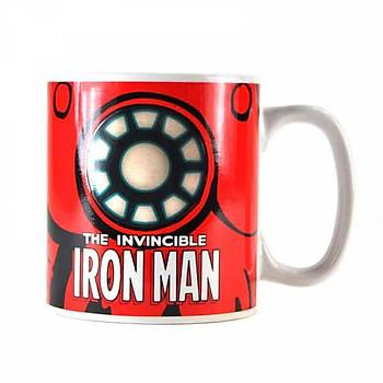 Marvel Heat Changing Mug - (Iron Man)