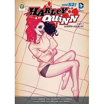 2 Adet Dergi Harley Quinn Cilt 1 Þehrin Ateþlisi - Harley Quinn Cilt 2 Güç Kesintisi