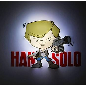 3D Light FX Star Wars Han Solo Mini Duvar Lambasý