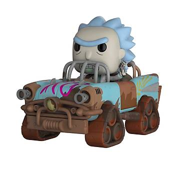 Funko POP Rick & Morty - Mad Max Rick Collectible Figure