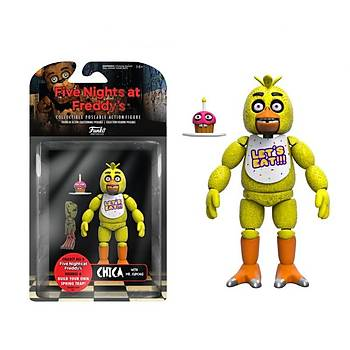 "Action Figure Five Nights At Freddys 5"" Articulated Nightmare Chica"