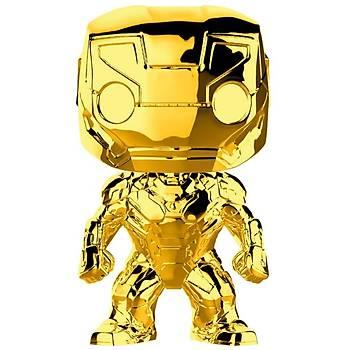 Funko POP Marvel Studios 10 - Iron Man (Gold Chrome)