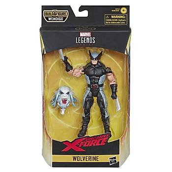 Hasbro X-Force Marvel Legends - Wolverine (Wendigo BAF)