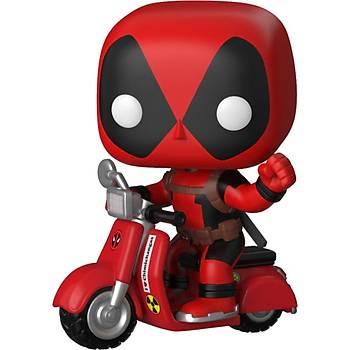 Funko POP Marvel Deadpool on Scooter