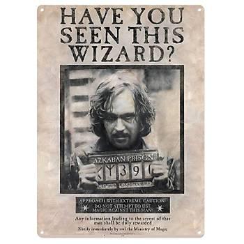 Harry Potter Have You Seen This Wizard ? Sirius Black Metal Duvar Levhasý