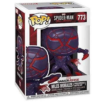 Funko POP Games Spider-Man Miles Morales Miles (P.M. Suit)