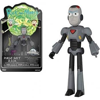 Funko Rick & Morty Purge Suit 5'inch Action Figure