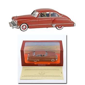 Tintin Buick Rodamaster DieCast Model Car Figure