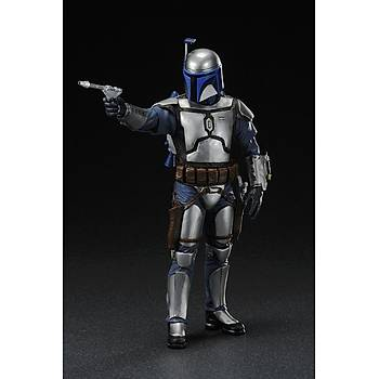 Star Wars Attack of The Clones Version Jango Fett ArtFX + Statue