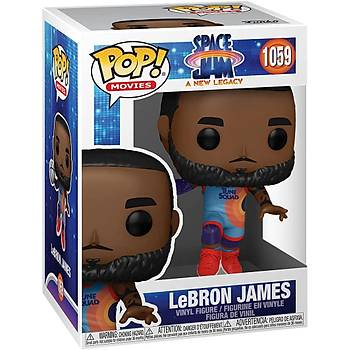 Funko Pop Movies Space Jam A New Legacy - Lebron James Jumping