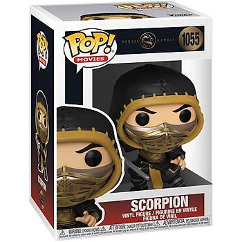 Funko Pop Movies Mortal Kombat - Scorpion