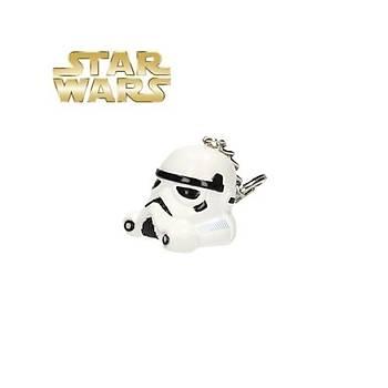 Star Wars Stormtrooper 3D Helmet Keychain Anahtarlýk