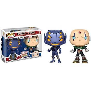 Funko POP 2-Pack Capcom Vs. Marvel Ultron Vs Sigma