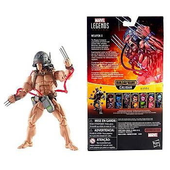 Hasbro Marvel Legends -  X-Men Caliban Series Weapon X