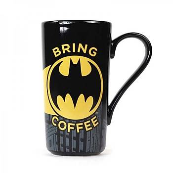 BATMAN LATTE MUG - BRING COFFEE